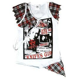 Anarchy Uk Sex Pistols Punk Rock Top T Shirt M L
