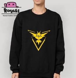 Pokemon Sweatshirt Cool Streetstyle Zapdos
