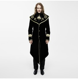 Vintage Overcoat With Gold Embroidery Ct05501/Ct05502
