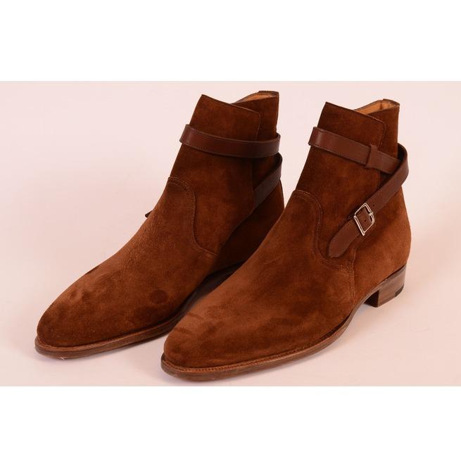45e2010b1929 Handmade Brown Jodhpurs Boots