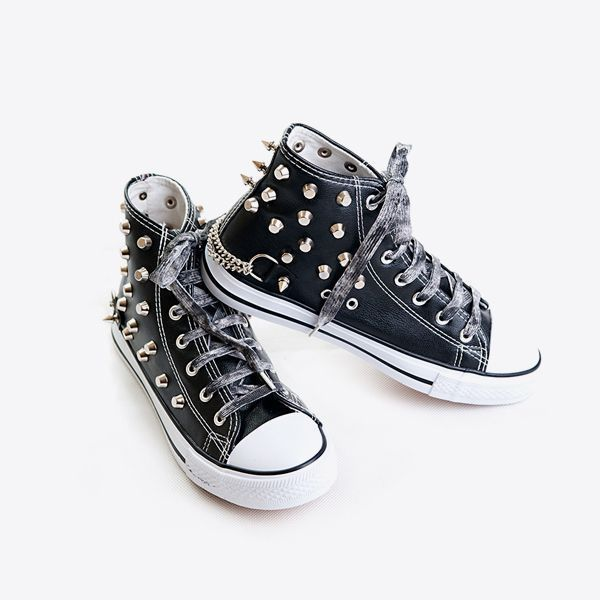 Gothic White Shoes For Men