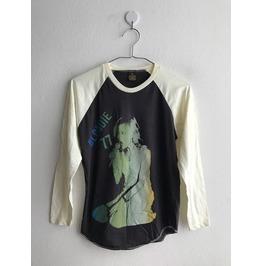 Blondie T Shirt 3/4 Long Sleeve Baseball Pop Rock T Shirt M