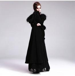 Fur Trimmed Hooded Vintage Topcoat Ct01001/Ct01002