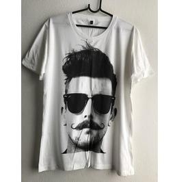 Mustache Cool Fashion Pop Rock T Shirt M