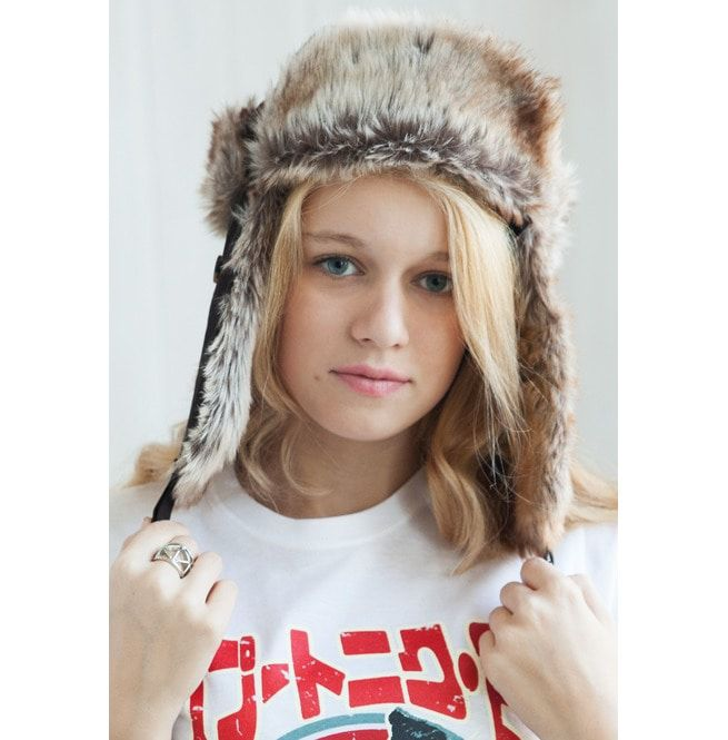 d9c15a5432e Japanese Style Trapper Hat Faux Fur Bomber Russian Hat Ushanka Mens Womens