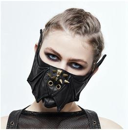 Goth Bat Wing & Skull Face Mask Mk016