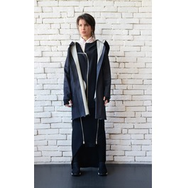 Oversize Denim Coat/Casual Jean Jacket/Plus Size Tunic Top