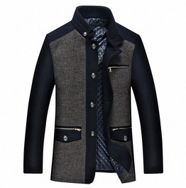 Casual Business Wool Overcoat