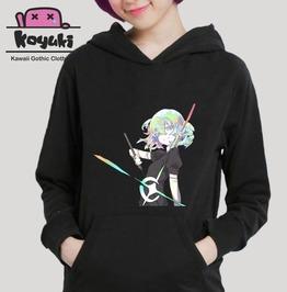 Houseki No Kuni Kawaii Anime Harajuku Hoodie