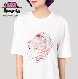 Pastel Gothic Girl Kawaii Cute T Shirt