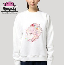 Pastel Sweatshirt Girl Cute Kawaii Harajuku