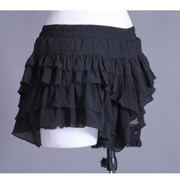 Stylish Checked Maid's Cosplay Skirt 21071