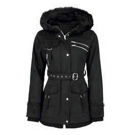 Warm Padded Hooded Jacket Coat Womens