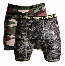 Sd Pro Range Compression Shorts Camo 2 Pack