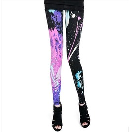 2013 Fashion Graffiti Leggings Pants