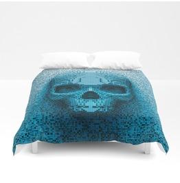 Decorative Skull Duvet Cover