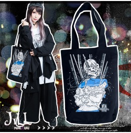 Japan Street Punk Game Of Laplace Cursed Nurse Canvas Shopper Bag Jag0044