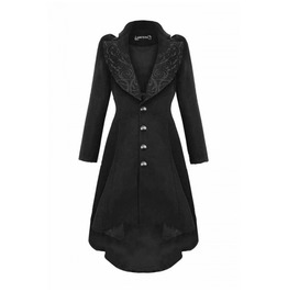 Witchy Victorian Corset Long Coat Romantic From Gothic Brand Dark In Love