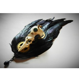 Clockwork Crow Fascinator