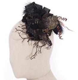 Steampunk Butterfly And Sticks Headdress Sp043