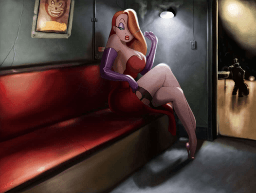 Steal the look of jessica rabbit