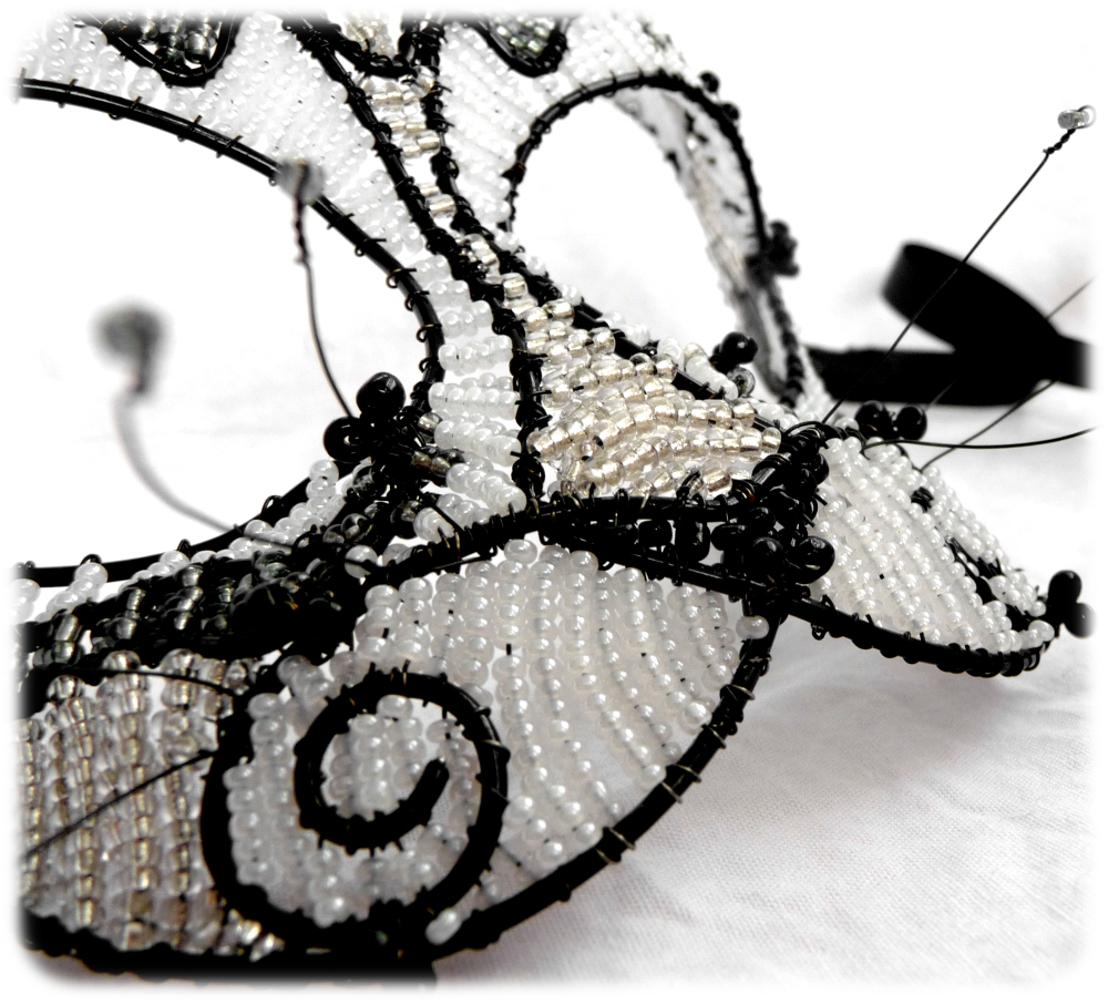 Cat Masquerade Mask Mackerel tabby cat masquerade