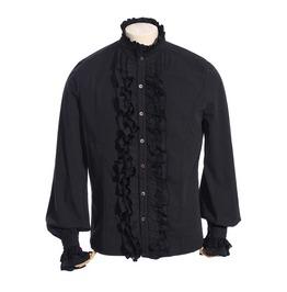 Vintage Full Front Ruffled Shirt Spm010