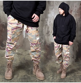 Masculine Desert Camouflage Bending Pants 200