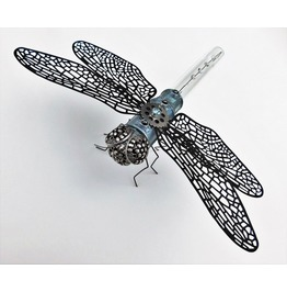 Steampunk Home Decor Dragonfly Sculpture