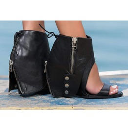 3dad984d39a Extravagant Genuine Leather Platform Sandals Woman Genuine Leather Must  Have Wedges Black Genuine Leather