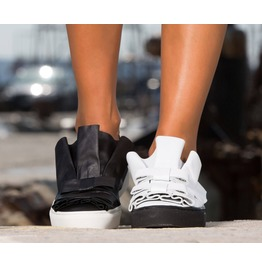 Extravagant Genuine Leather Sneakers/Woman Genuine Leather Sneakers