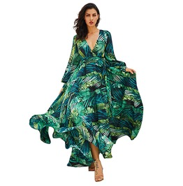 Rebelsmarket bohemian long sleeve boho maxi dress dresses 10