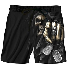 Gothic Black Men's Reaper Boardshort