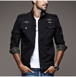 Casual Military Men's Jacket Up To 6 Xl