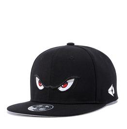 Unisex's Big Eyes Embroideried Hip Hop Dancing Snapback Hat