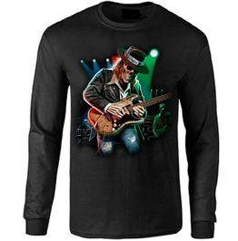 Rock And Roll Guitar Player Long Sleeve T Shirt
