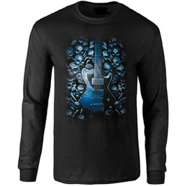 Blues Nightmare Long Sleeve T Shirt
