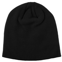 Ace Lightweight Small Black Beanie Hat
