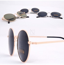 Metal Frame Round Sunglasses 30