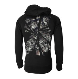 Horror Hooded Sweatshirt Zip Hoodie Freddy Krueger Myers Chucky Jason Goth