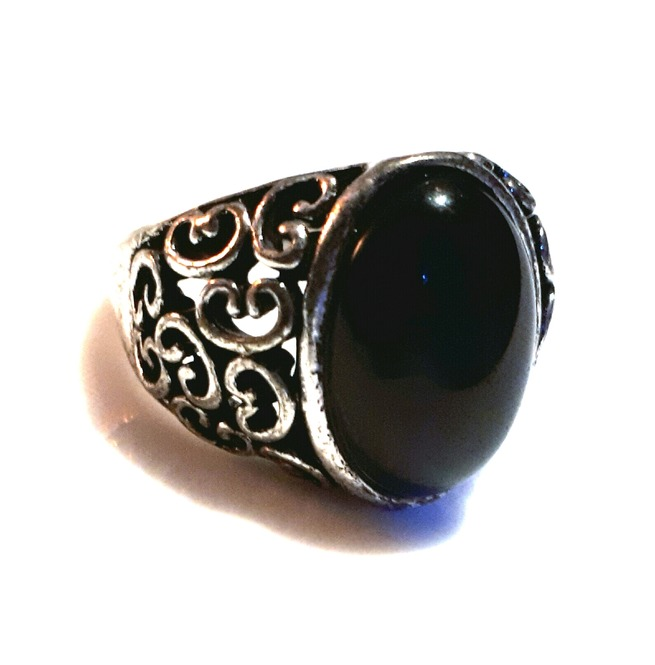 rebelsmarket_goth_old_silver_metal_antique_look_black_oval_engraved_design_ring_size_sml_rings_5.jpg
