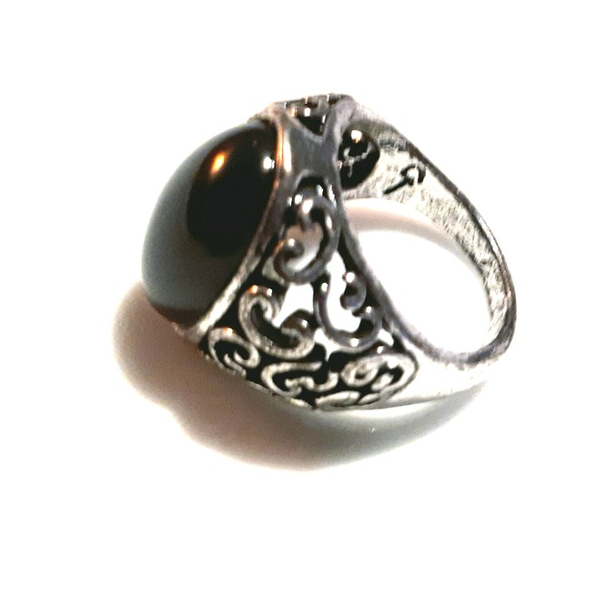 rebelsmarket_goth_old_silver_metal_antique_look_black_oval_engraved_design_ring_size_sml_rings_4.jpg