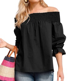 Trendy Bow Knot Back Blouse