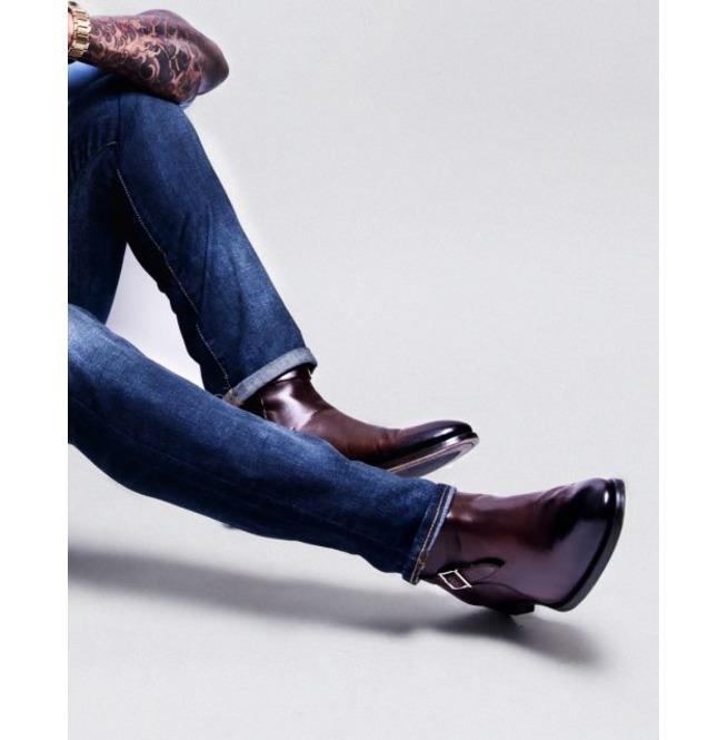 e3c2dc63483f Handmade Men Brown Jodhpurs Boot