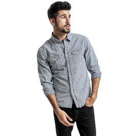 Modern Plaid Pattern Long Sleeve Shirt