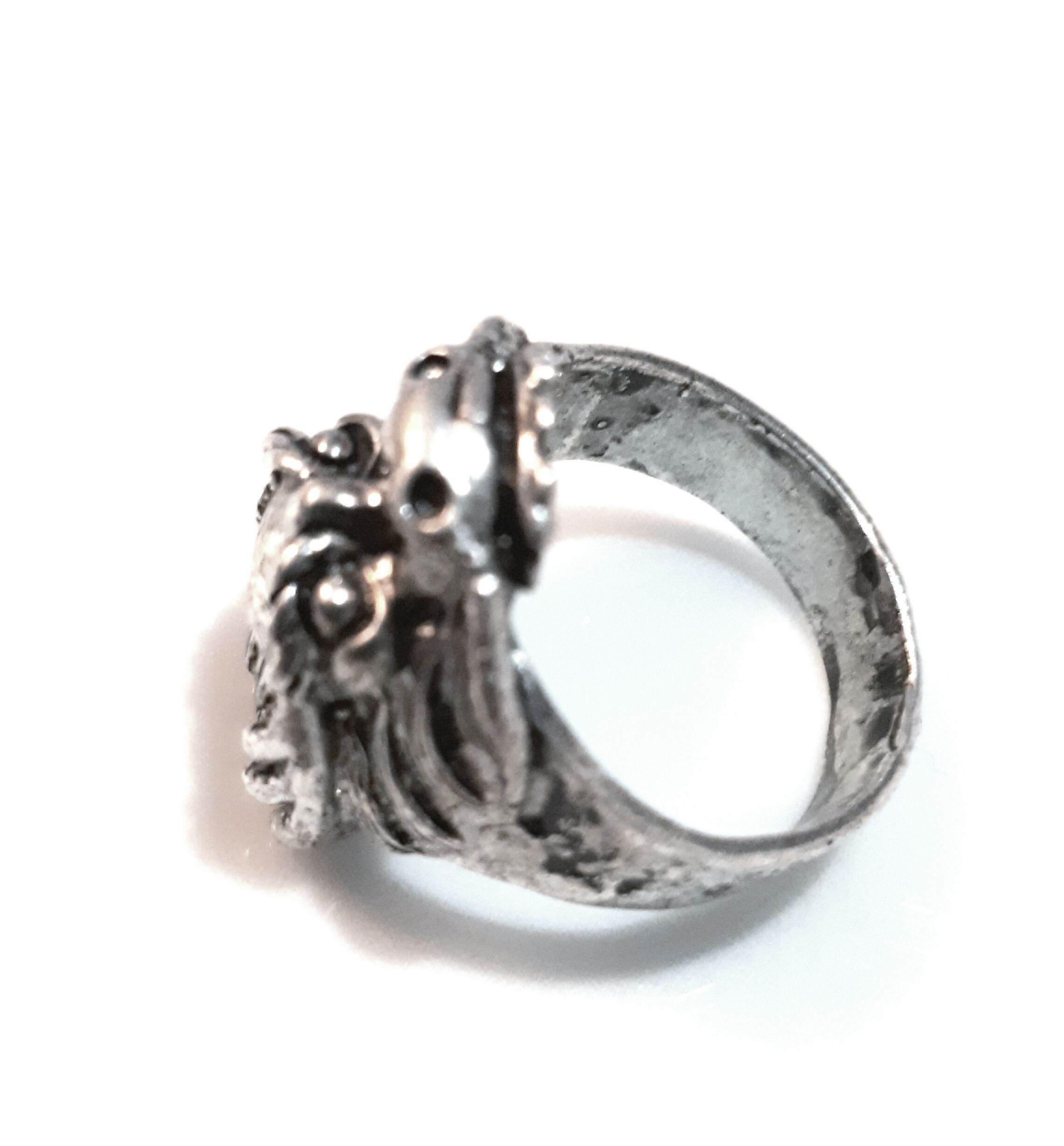 hersk rock and gun full black information set find more awesome wedding engagement decorating his of photo website ring jewellrys about size design hers diamond purple rings punk heart promise beautiful