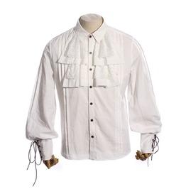 Vintage Punk Shirt With Attached Jabot Spm001