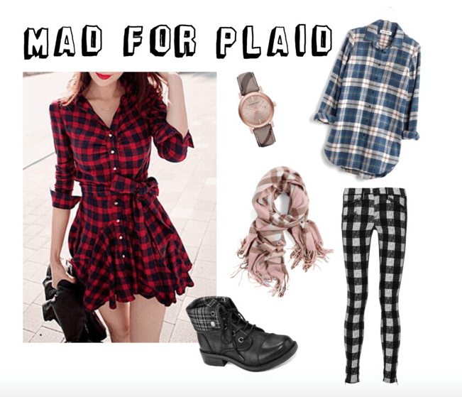 Mad For Plaid: How To Wear Plaid Patterns
