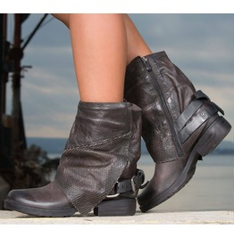 New Collection/Brown Genuine Leather Woman Boots/Brown Leather Boots By Biju