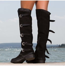 New Collection/Genuine Leather Woman Boots